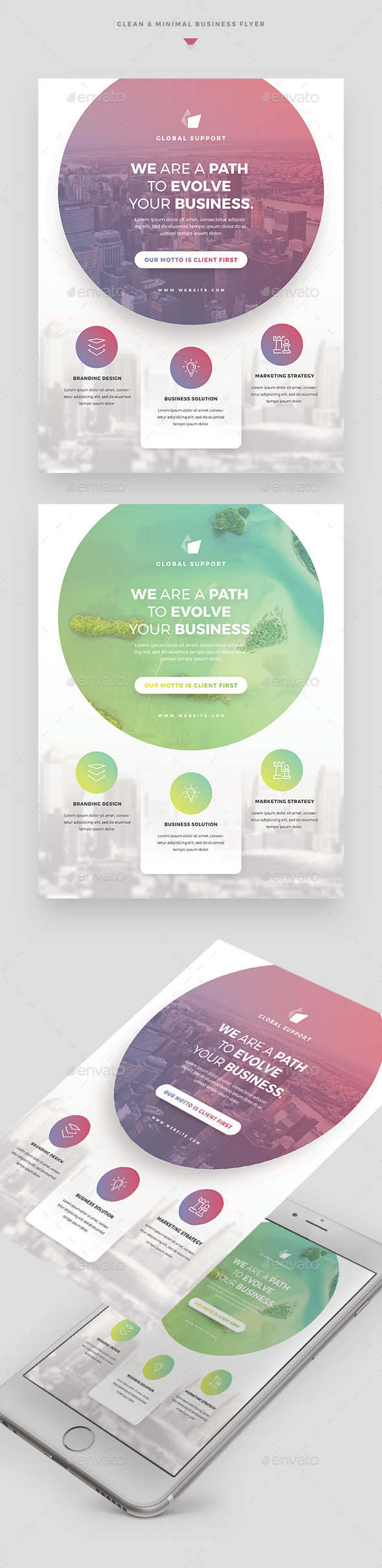 Creative Clean Business Flyer - Corporate Flyers