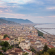 View of Salerno city at sunset - PhotoDune Item for Sale