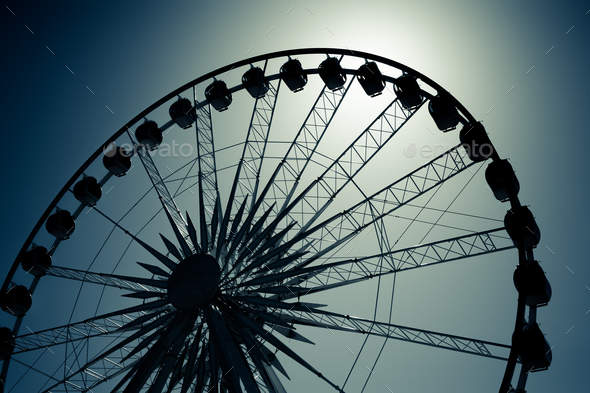 ferris wheel - Stock Photo - Images