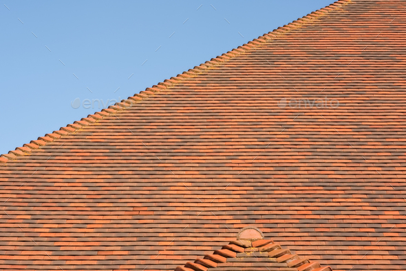 roof tiles - Stock Photo - Images