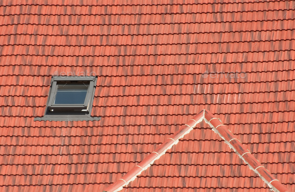 rooftop window - Stock Photo - Images