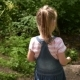 Little Girl in the Summer Forest - VideoHive Item for Sale