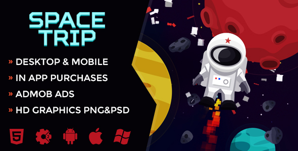 Space Trip - CodeCanyon Item for Sale