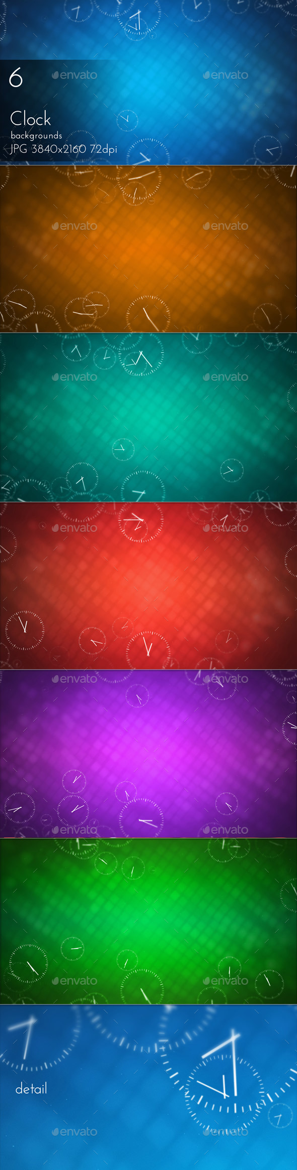 Clocks Background - Miscellaneous Backgrounds