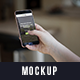 Phone in Hands Mockup - GraphicRiver Item for Sale