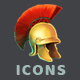 Ancient Greek Icons - GraphicRiver Item for Sale