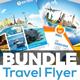 Holiday Tour & Travel Flyer Bundle