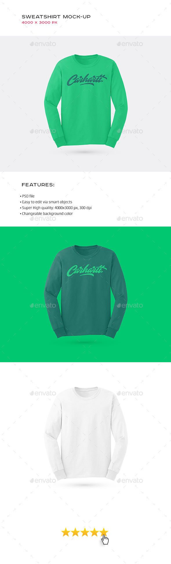 Sweatshirt Mock-up - Miscellaneous Apparel