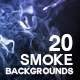 20 Smoke Backgrounds / Textures