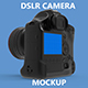 DSLR Camera Mockup - GraphicRiver Item for Sale