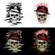 Mafia Skull With 4 Style Color - GraphicRiver Item for Sale