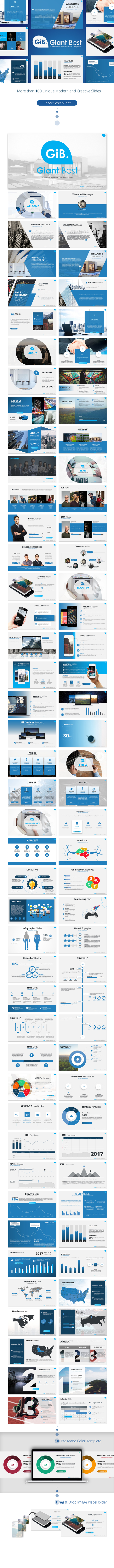 Giant Best PowerPoint Presentation Template - PowerPoint Templates Presentation Templates