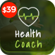 Health Coach - Joomla Template for Fitness, Health, Personal Life Coaching Nulled
