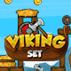 Physics Game - Vikings Set