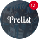 Prolist - Directory & Listing WordPress Theme - ThemeForest Item for Sale