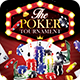 Poker Tounarment Flyer - GraphicRiver Item for Sale
