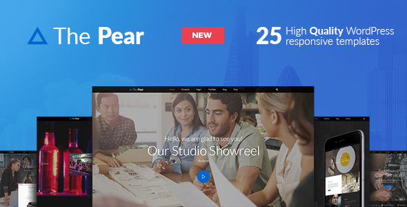 Pear - Responsive Multi-Purpose WordPress Theme