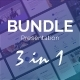 Bundle PowerPoint Presentations 3 in 1