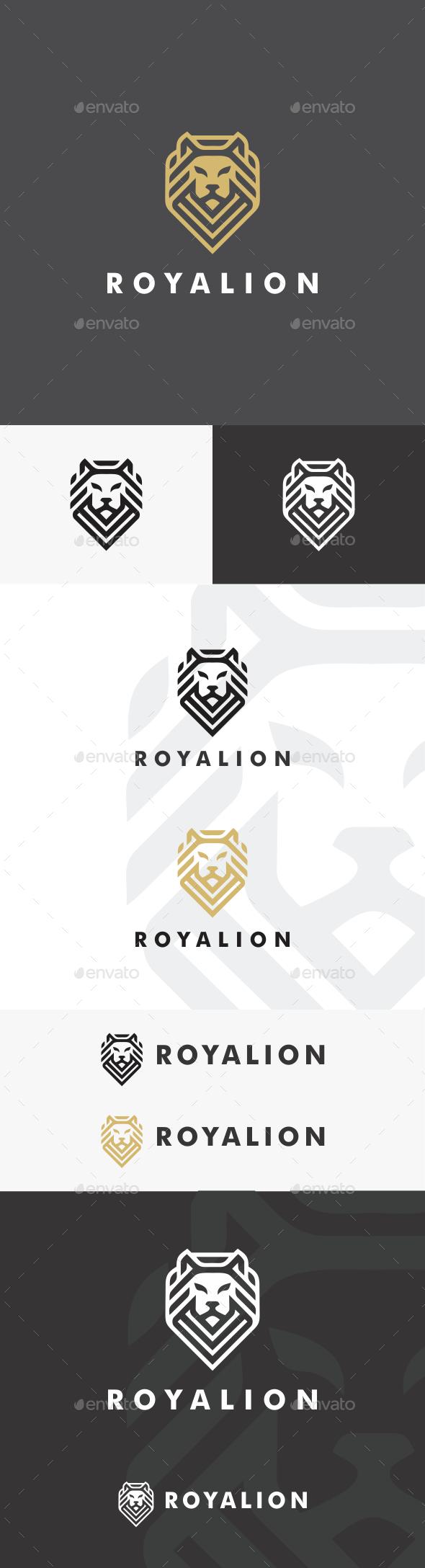 GraphicRiver Royal Lion Logo Template 20334455
