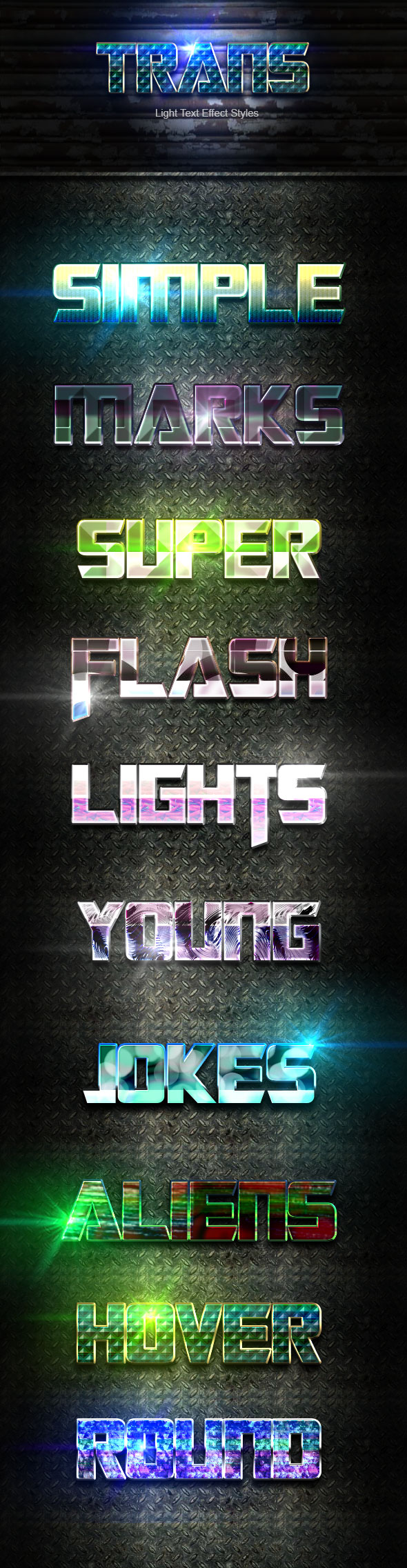 Trans Text Effect V51 - Text Effects Actions