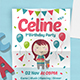 Birthday party Flyer vol 5