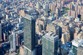 New York City Manhattan skyline aerial view with skyscrapers - PhotoDune Item for Sale