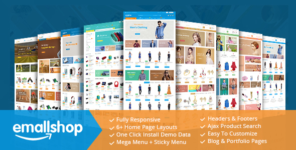 EmallShop - Responsive Multipurpose Virtuemart Theme - VirtueMart Joomla