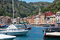 Portofino typical Italian village with small harbor, Liguria sea - PhotoDune Item for Sale