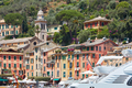 Portofino typical beautiful village with colorful houses in Italy - PhotoDune Item for Sale