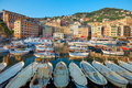 Camogli typical village with colorful houses and small harbor, Italy - PhotoDune Item for Sale