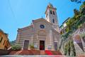 Portofino, Divo Martino romanic church in a sunny day in Italy - PhotoDune Item for Sale