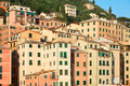 Camogli typical Italian village with colorful houses, Liguria - PhotoDune Item for Sale