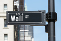 Wall Street sign near Stock Exchange, New York - PhotoDune Item for Sale