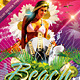 Beach Summer Music Dance Party Flyer V2 - GraphicRiver Item for Sale