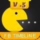 Facebook Timeline Cover V.5 - GraphicRiver Item for Sale