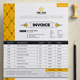 Invoice | Bill | Cash Memo Design Template for Fast Food / Restaurants / Cafe - GraphicRiver Item for Sale