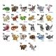 Cartoon Animal Alphabet Chart Set