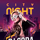 City Night DJ Party Flyer - GraphicRiver Item for Sale