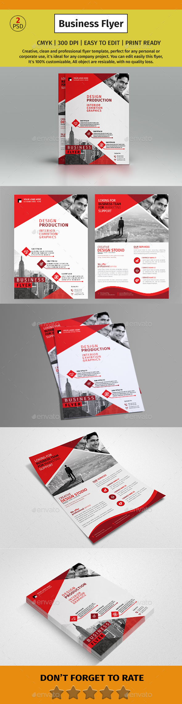 A4 Corporate Business Flyer #87 - Corporate Flyers