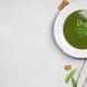 Fresh green pea soup - PhotoDune Item for Sale