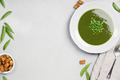 Fresh green pea soup - PhotoDune Item for Sale