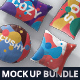 Pillow Mockup Bundle - GraphicRiver Item for Sale