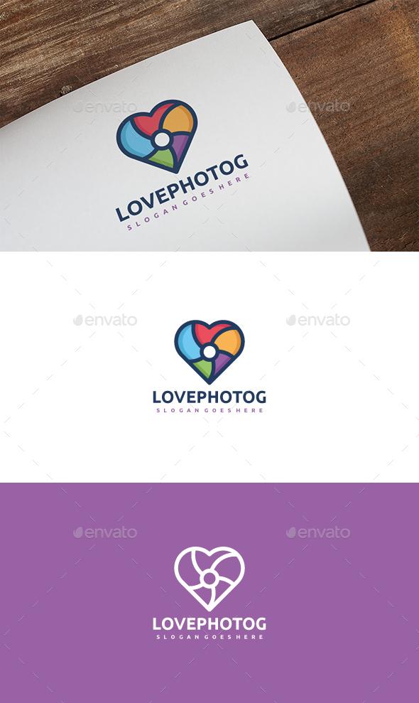 Love Photography Logo - Symbols Logo Templates