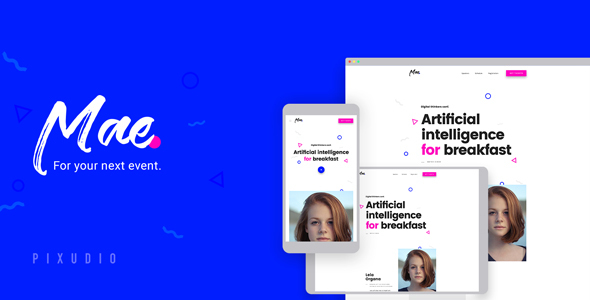 Mae - Event and Conference HTML5 Template