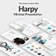 Harpy Minimal Keynote Template