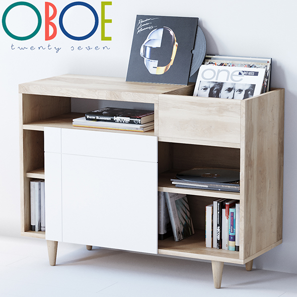 Bajo Cruz sideboard by Oboe - 3DOcean Item for Sale