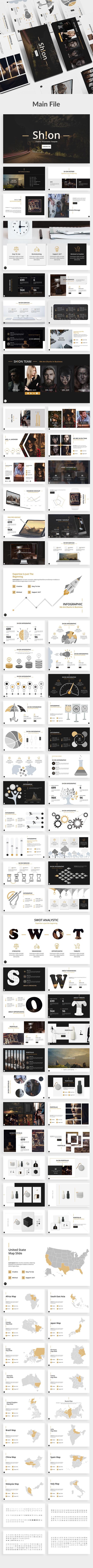 Shion Creative Powerpoint Template - Creative PowerPoint Templates