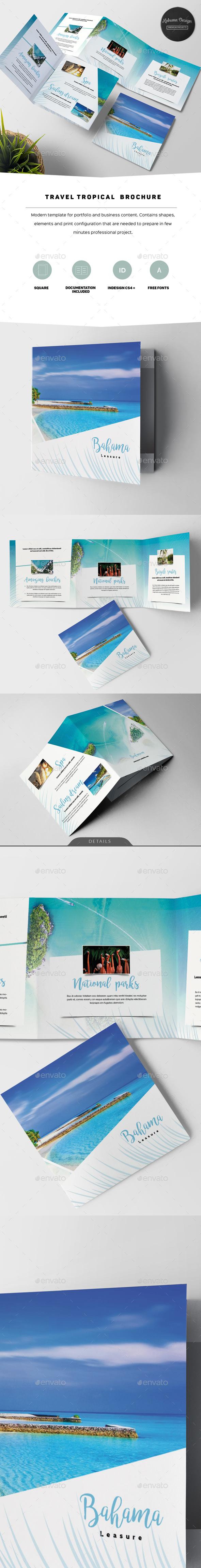 Travel Tropical Brochure - Informational Brochures