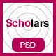 Scholars - Education, University & LMS PSD Template - ThemeForest Item for Sale