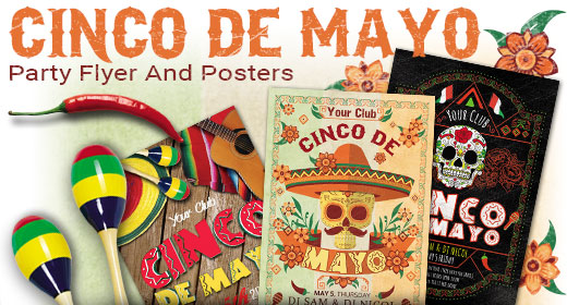 Cinco de Mayo Flyer And Posters